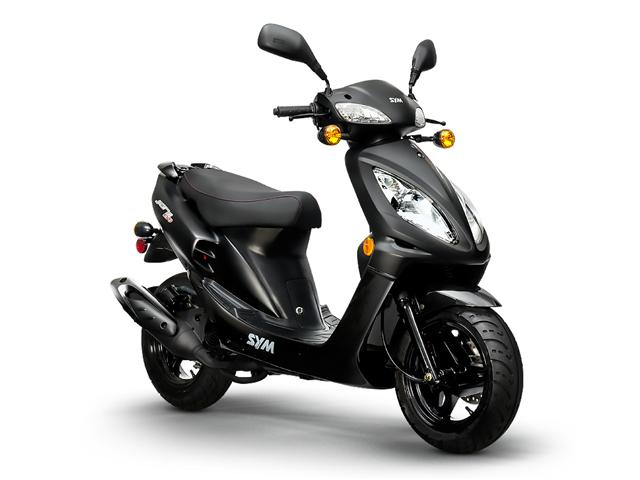 sym jet 50cc black moto steki. Black Bedroom Furniture Sets. Home Design Ideas